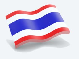 thailand glossy wave icon 256