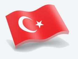 turkey glossy wave icon 256
